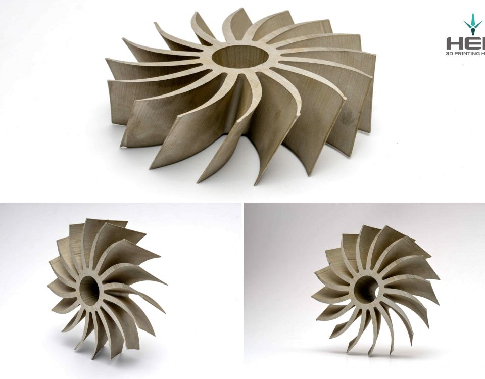 wydruk 3d turbiny dmp