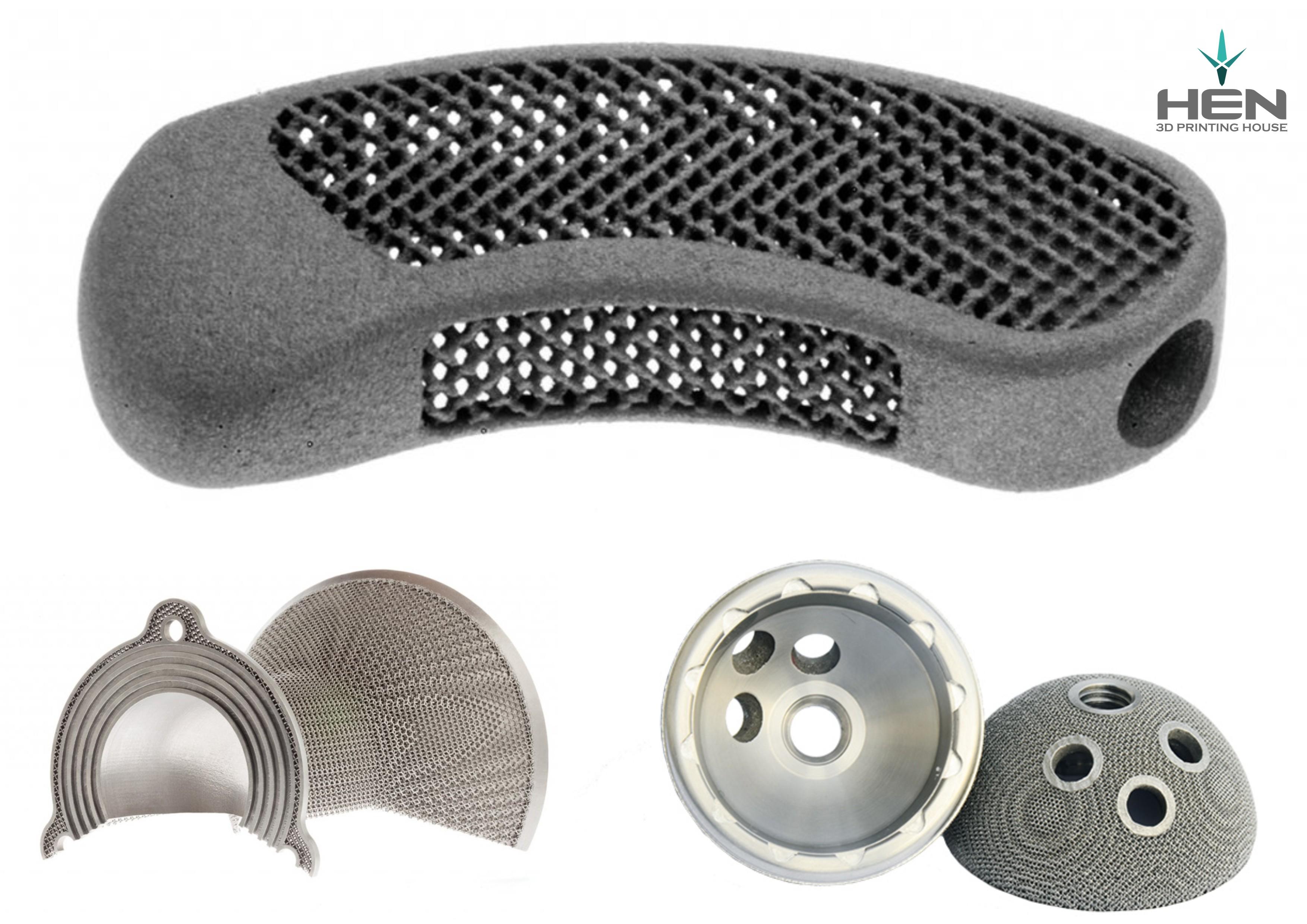 Druk 3D elementy metalowe, DMP